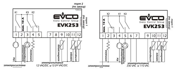 контроллер Evco Ev3x21n7 инструкция - фото 7