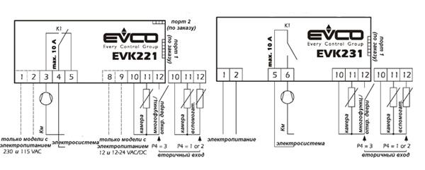 контроллер Evco Ev3x21n7 инструкция - фото 10